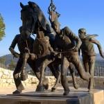 Monumento a los Caballos del Vino de Caravaca de la Cruz Flickr Creative Commons by Sjdunphy