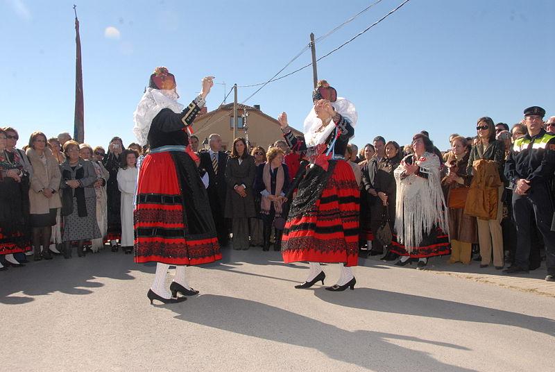 Las Alcaldesas de Zamarramala Segovia 2-4 de febrero Wikipedia Creative Commons by Margo 47
