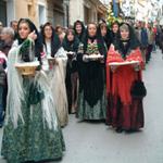 Procesión del Pan Bendito Mas de las Matas Teruel Tercer domingo de enero foto pequeña Licencia Commons  by Gloriette-Gloria Blogspot