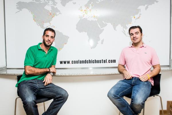 Arnau Contel y Xavier Cusi - Propietarios de Cool & Chic Hostel