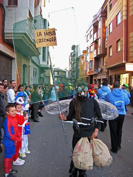 Carnaval de La Bañeza Foto grande Licencia Creative Commons by Otoperandones