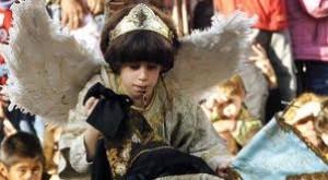 Bajada del Angel Tudela Navarra Marzo Foto grande