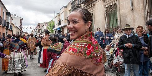 Fiesta del Olivo Mora Toledo Último domingo de abril Licencia Commons by Moreno