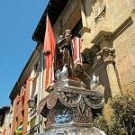Fiestas del Santo Santo Domingo de la Calzada Rioja  Mediados de mayo. Licencia Commons Big Sus