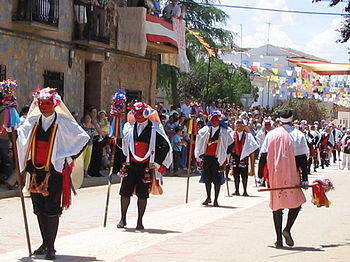 Pecados y Danzantes de Camuñas Junio Toledo Entrada Licencia Commmons Pecados y Danzantes Wikipedia