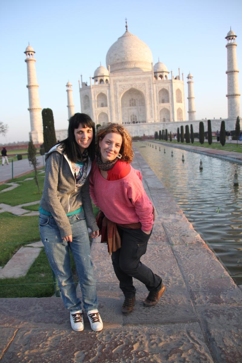 Viaje de mochileras por India ( Taj Mahal - Agra - India)